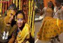 हल्दी रस्म में 26 साल छोटी दुल्हन को गोद में उठा जमकर नाचे 52 वर्षीय मिलिंद सोमन, देखे Video
