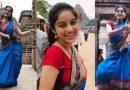 Video: ब्लू साड़ी और हाथ में सिंपल बैग लेकर एक्ट्रेस दीपिका सिंह पहुंची कोणार्क मंदिर, पब्लिक भी खा गई धोखा
