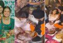 """PICS: ससुराल में पहुँच कर नेहा कक्कड़ और रोहनप्रीत ने निभाई """"अंगूठी रस्म"""", देखें ये वायरल फ़ोटोज़"""