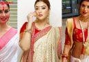 नवरात्रि पर बॉलीवुड की इन एक्ट्रेस पर छाया बंगाली लुक,खूबसूरती देख आप भी हो जायेंगे दीवाने