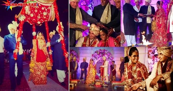 सलमान खान की लाडली बहन अर्पिता की शादी हुई थी इस शाही अंदाज में ,उमड़ा था पूरा बॉलीवुड ,देखें तस्वीरे - NamanBharat