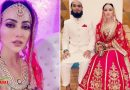 लाल जोड़े में सना खान ने पति मुफ़्ती संग शेयर की ये खूबसूरत फोटो, सोशल मीडिया पर बदला अपना नाम