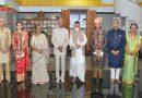 गोवा में कपल की शादी बनी यादगार, मंदिर में अचानक से आशीर्वाद देने पहुंचे राष्ट्रपति