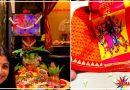 महाअष्टमी के खास मौके पर शिल्पा शेट्टी ने किया बेटी समीशा की पूजा ,देखें खुबसूरत तस्वीरे