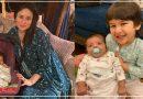 तैमूर अली खान ने गोद मे लिया न्यूबॉर्न बेबी , देखिए करीना के बेटे की ये वायरल फोटो