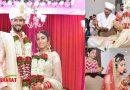 क्रिकेटर शिवम दुबे आख़िरकार बने दूल्हे, अंजुम खान संग रचाई शादी, देखिए तस्वीरें